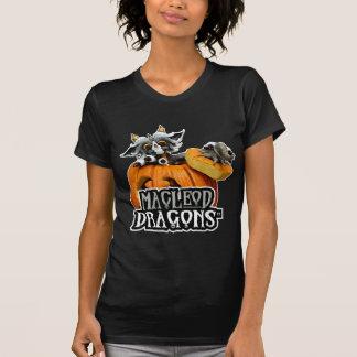 MD Pumpkin Dragon AA Crew Neck T, Black Shirt