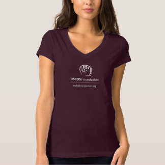 MdDS Awareness Bella+Canvas Jersey V-Neck T-Shirt