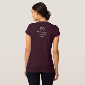 MdDS Awareness Bella+Canvas Jersey V-Neck T-Shirt