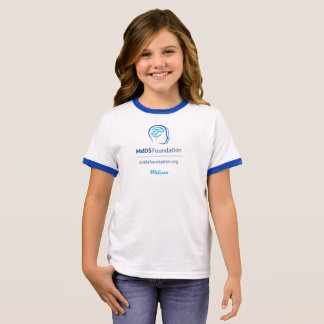 MdDS Awareness Girl's Ringer T-Shirt
