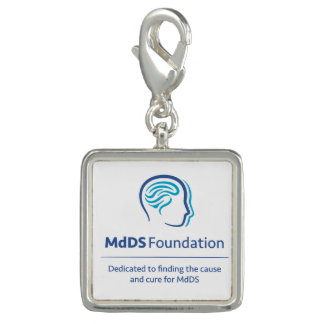 MdDS Awareness Square Charm and/or Bracelet