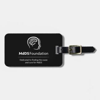 MdDS Awareness Travel Luggage Tag