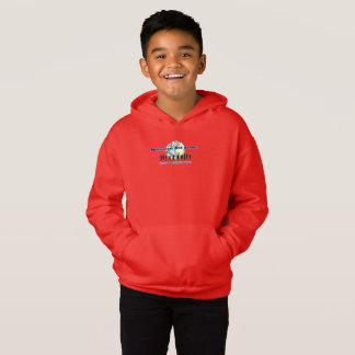 MDPSC BOYS' RED PULL OVER HOODIE