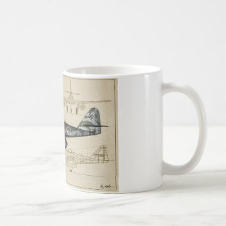 Me262 jet fighter coffee mug