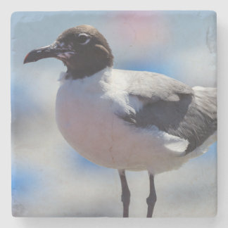 Me A Seagull Stone Coaster