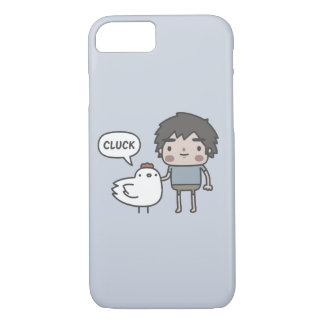 Me and My Chicken Friend Case-Mate iPhone Case