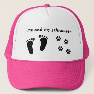 Me and My Schnauzer Trucker Hat