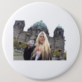 Me at the Berliner Dom!!!!! 6 Inch Round Button