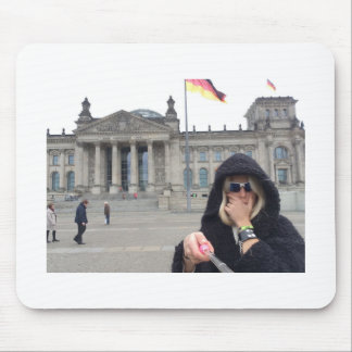 Me at the Reichstag !!! Mouse Pad