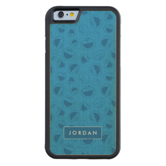 Me Awesome Blue Pattern | Add Your Name Carved Maple iPhone 6 Bumper Case