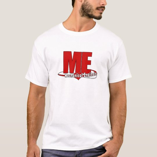 ME BIG RED LOGO MECHANICAL ENGINEER T-Shirt