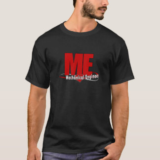 ME BIG RED LOGO MECHANICAL ENGINEER T-Shirt