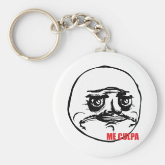Me Culpa - Keychain