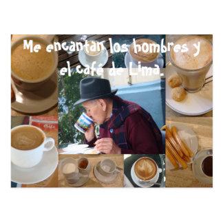 Me Encanta el Cafe Postcard
