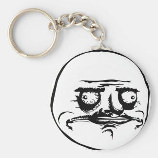 Me Gusta face Key Chains