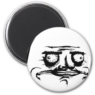 Me Gusta Face Magnet