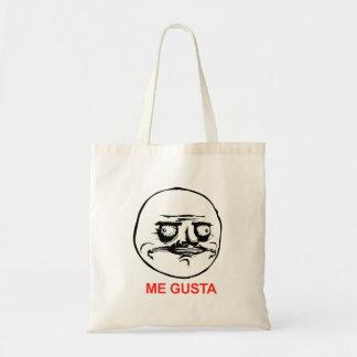 Me Gusta Face Meme Tote Bag