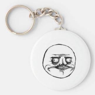 Me Gusta Guy Basic Round Button Keychain