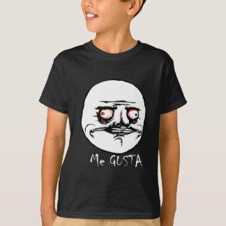 Me Gusta Raging Comic Face T-Shirt