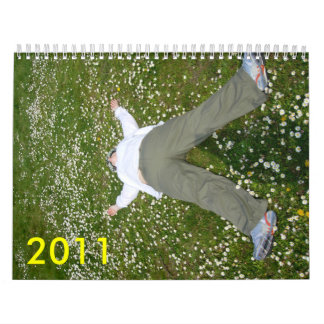 me lying in daisies, 2011 wall calendars