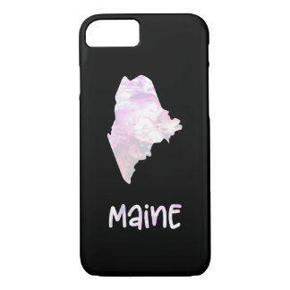 ME Maine State Iridescent Opalescent Pearl Case-Mate iPhone Case