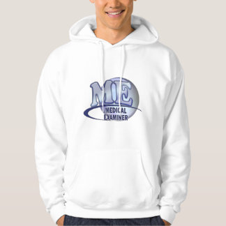 ME MEDICAL EXAMINER FUN BLUE LOGO HOODIE