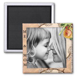 """Me & Mom"" Add Photo Magnet"