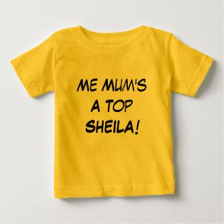 Me Mum's a Top Sheila , Aussie Slang Baby Gift