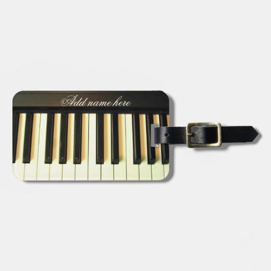 Me & My Piano_ Bag Tag