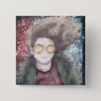 me on a badge 2 inch square button