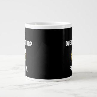 Me Overreacting Probably Large Coffee Mug