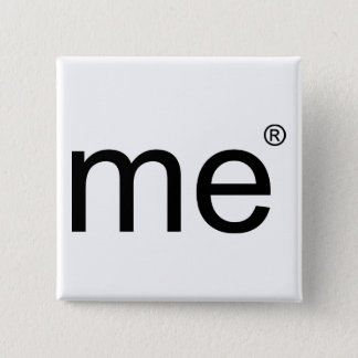 me(r)(black) 2 inch square button