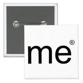 me(r)(black) 2 inch square button