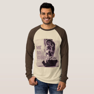 Me So Confused Monkey by JP Choate T-Shirt