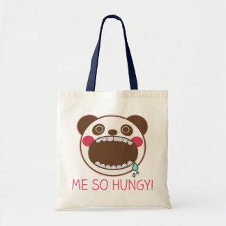 Me So Hungy!  PANDA KUN Tote Bag