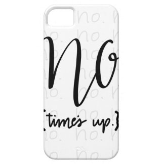 Me Too Movement Inspired No Times Up iPhone 5 Cases