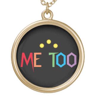 ME TOO Rainbow Resist Design Necklace