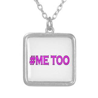 ME TOO SILVER PLATED NECKLACE