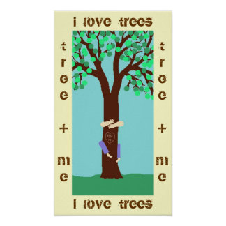 ME + TREE POSTER