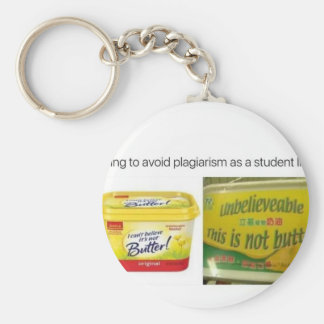 Me trying to avoid plagiarize basic round button keychain