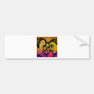 Me, You and Him Bumper Sticker