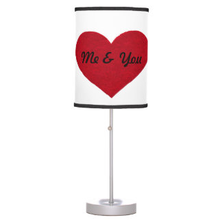 """""""Me & You"""" Valentine Lamp shade"""