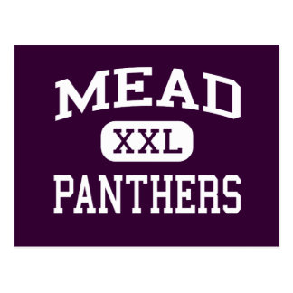 mead - panthers - senior - Spokane Washington Postcard