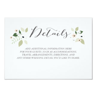 Meadow Blooms Details Card