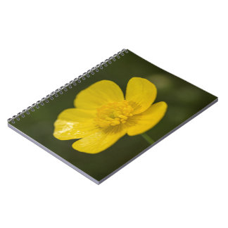 Meadow Buttercup Spiral Notebook