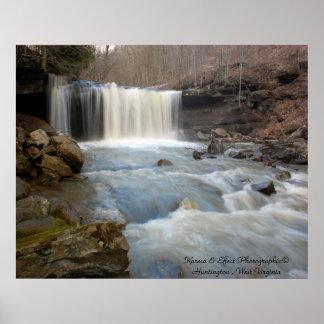 Meadow Creek Falls Poster