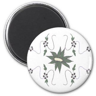 Meadow flower magnet