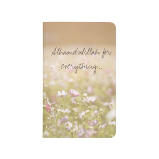 meadow flower pocket journal