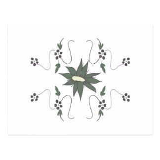 Meadow flower postcard