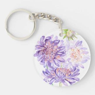 meadow flowers keychain